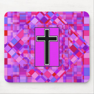 Tile Mosaic and The Cross. Mouse Pad