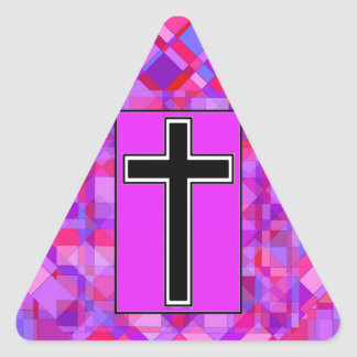 Tile Mosaic and The Cross Stickers
