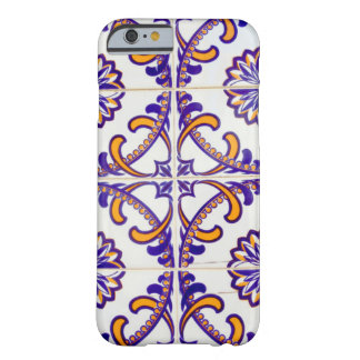Tile pattern close-up, Portugal Barely There iPhone 6 Case
