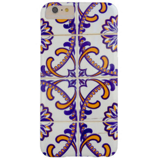 Tile pattern close-up, Portugal Barely There iPhone 6 Plus Case