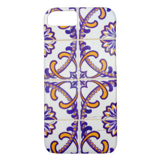Tile pattern close-up, Portugal iPhone 7 Case