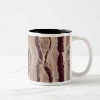 Tile representing Adam and Eve, Roman Two-Tone Mug