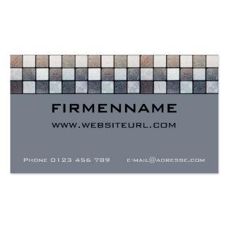 Tile setter business card