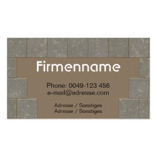 Tile setter business card template