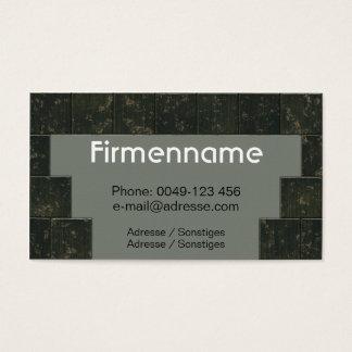Tile setter handicraft business card
