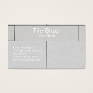 Tile business cards and business card templates zazzle for Tiler business card