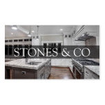 Tile Stone Granite Marble Construction Business Business Cards