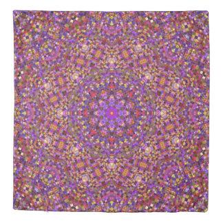 Tile Style Kaleidoscope    Duvet Covers