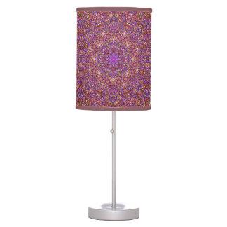 Tile Style Kaleidoscope      Table Lamps
