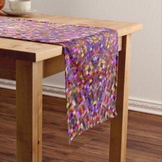 Tile Style Kaleidoscope    Table Runners, 3 sizes Short Table Runner