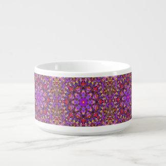Tile Style  KaleidoscopeChili Bowls