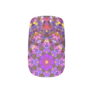 Tile Style Minx Nail Art