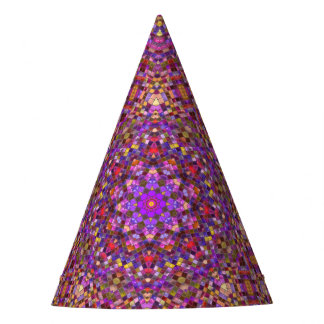 Tile Style Pattern Custom Party Hat