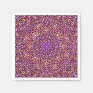 Tile Style Pattern   Paper Napkins, 5 styles Paper Napkin