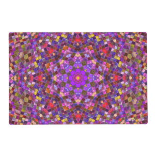 Tile Style Pattern  Placemat Laminated Place Mat