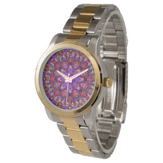 Tile Style Pattern Vintage Womens Watch