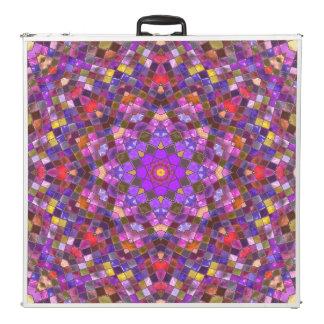 "Tile Style  Vintage Kaleidoscope  96""  Pong Table"