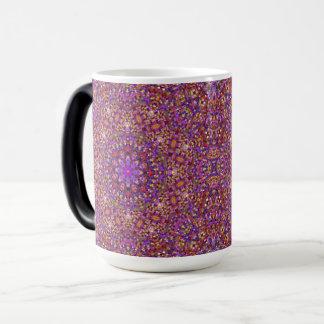 Tile Style Vintage Kaleidoscope Morphing Mug