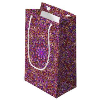 Tile Style Vintage Kaleidoscope  Small Gift Bag