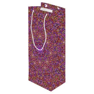 Tile Style Vintage Kaleidoscope  Wine Bags