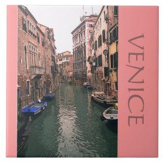 TILE/TRIVET/VENETIAN CANAL SCENE TILE