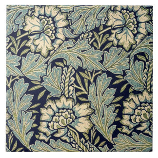 Tile with Anemone fabric design by William Morris