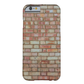 Tiled Brick Wall Urban Texture Pattern Barely There iPhone 6 Case