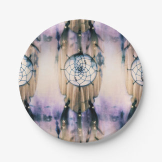 Tiled Dreams 7 Inch Paper Plate