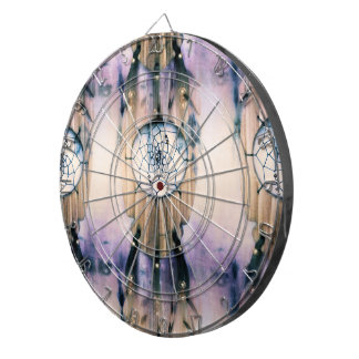 Tiled Dreams Dart Board