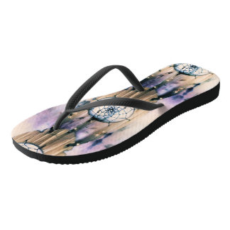 Tiled Dreams Flip Flops