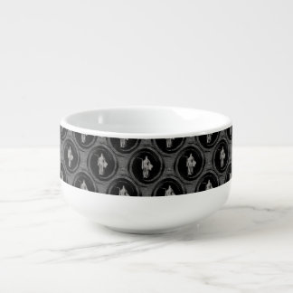 Tiled Grim Reaper Soup Mug