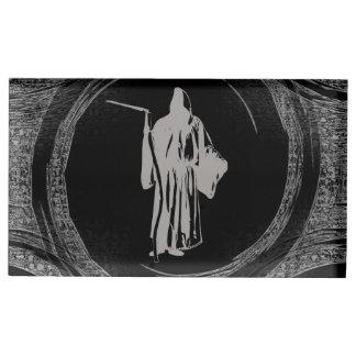 Tiled Grim Reaper Table Card Holders