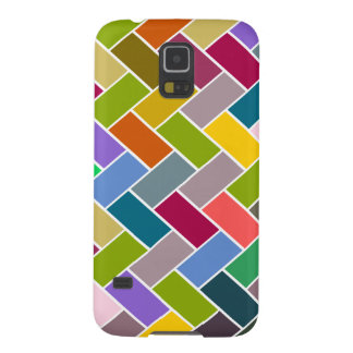 Tiled Pattern Colourful Mosaic Galaxy S5 Covers