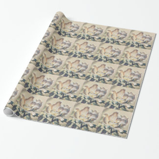 Tiled Rosa Wrapping Paper