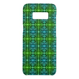 Tiled Surprised Monster Pattern iPhone Case