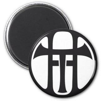 Tilen Hrovatic logo 2 Inch Round Magnet