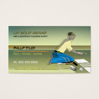 Tiler/Flooring Specialist/Company Business Card