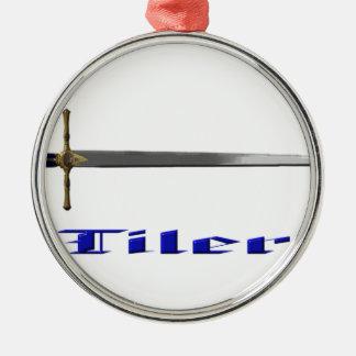 tiler metal ornament