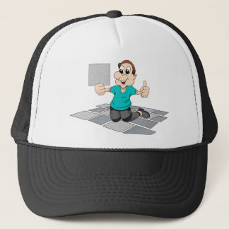 Tiler Repairman Construction Worker kitchen Tiles Trucker Hat
