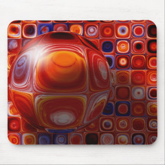 Tiles and Bubble-ations Mouse Pad