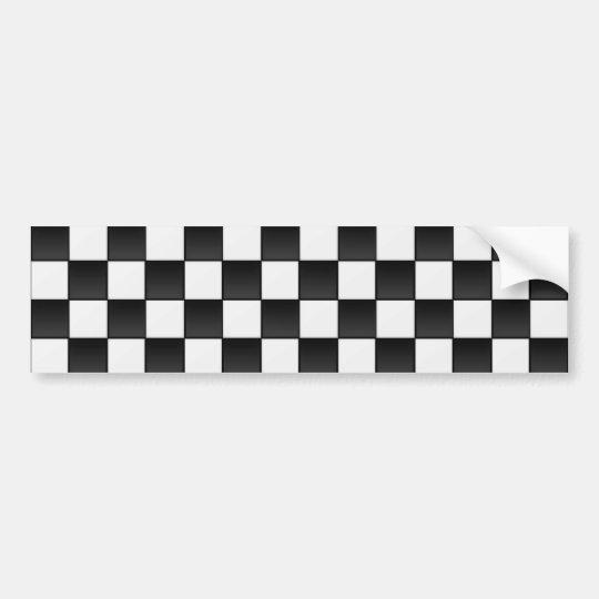 Tiles Bumper Sticker