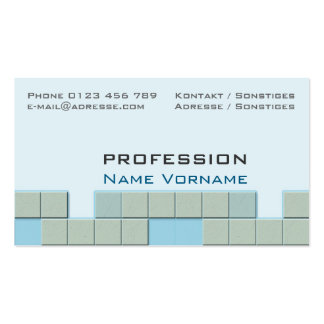 Tiles Pack Of Standard Business Cards