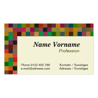 Tiles Business Cards