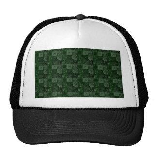 Tiles in Green Trucker Hat