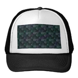 Tiles in Mottled Blue Trucker Hat