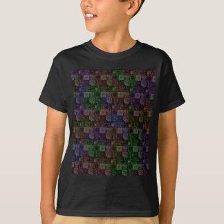 Tiles in Rainbow Tee Shirts