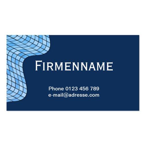 Tiles move business card templates