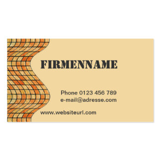 Tiles natural stone publisher pack of standard business cards