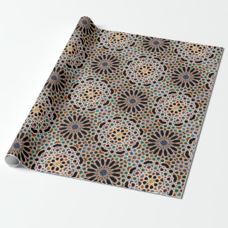 Tiles of the Alhambra Wrapping Paper