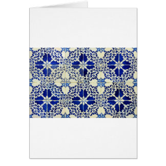 Tiles, Portuguese Tiles Greeting Card